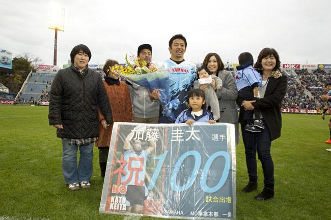 トップリーグ100試合出場を達成したヤマハ発動機HO加藤 photo by Hiroki Takami