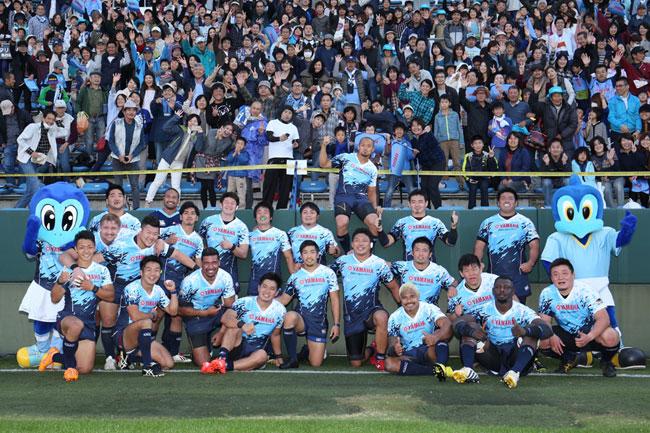 ヤマハ発動機は再びホームゲームで対NTTドコモ戦。大観衆の中、全勝キープなるか photo by Kenji Demura